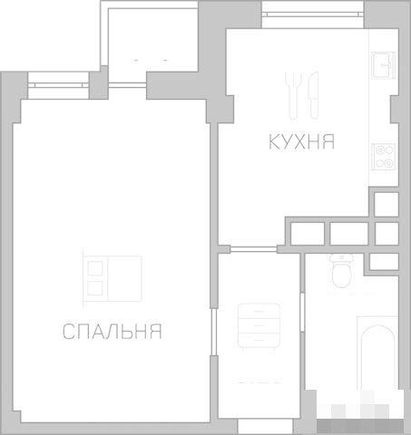 Квартира на продажу по адресу Россия, Калининградская область, Калининград, Космонавта Леонова ул